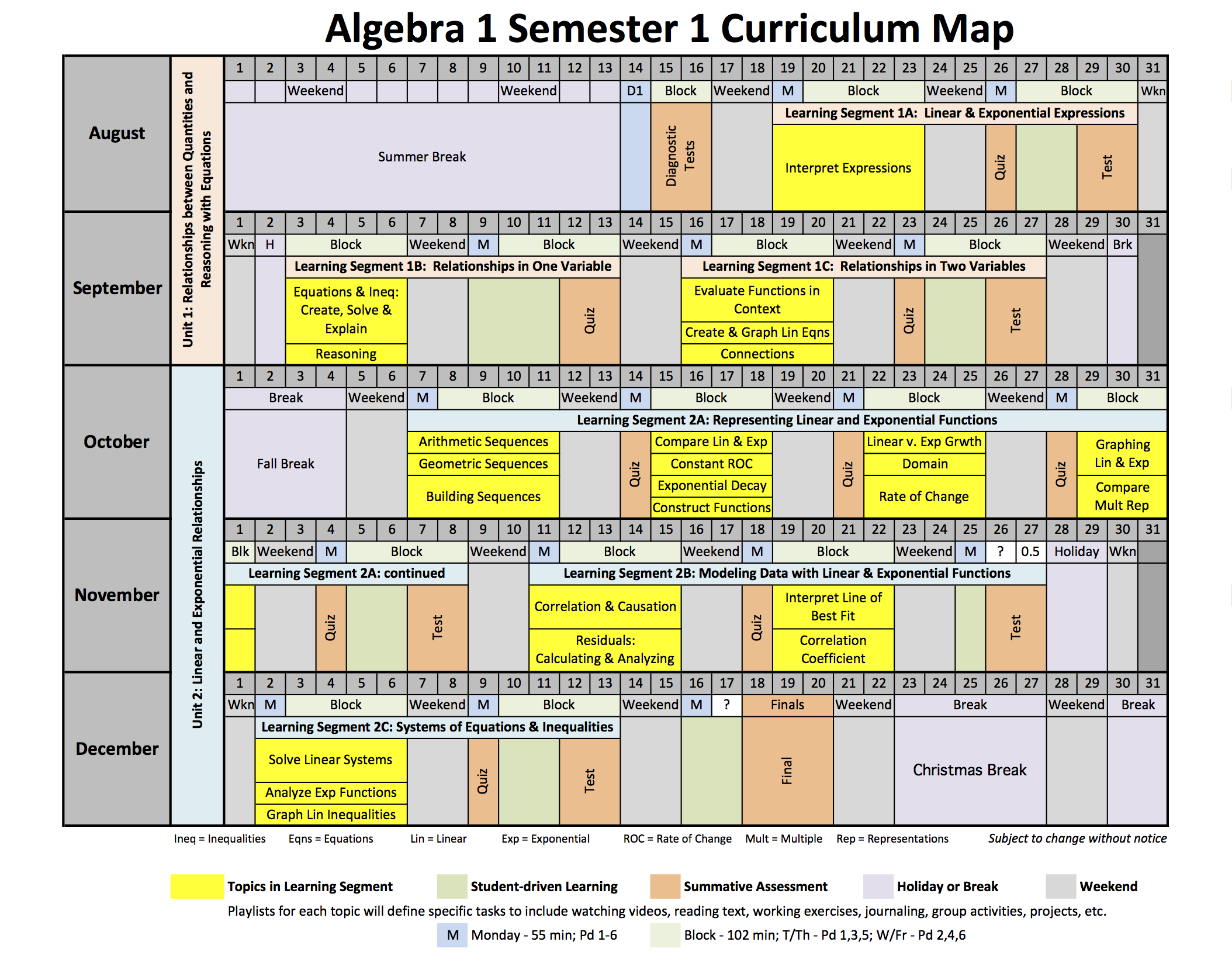 Careening towards my curriculum maps reflections of a second ccssm aligned algebra 1 curriculum map maxwellsz