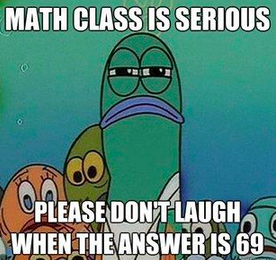 Math Meme - Answer is 69