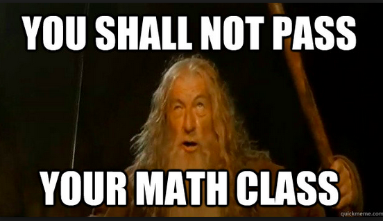 Math Meme - Gandalf