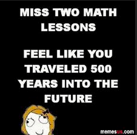 Math Meme - Miss Two Math Classes