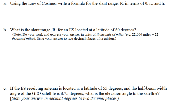 Law of Cosines: An Honors Precalculus Assessment Question